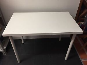 White Ikea table Waverley Eastern Suburbs Preview