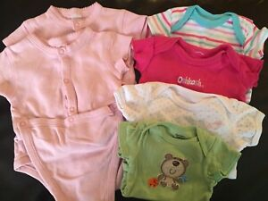 Onesies size NB to 3 months