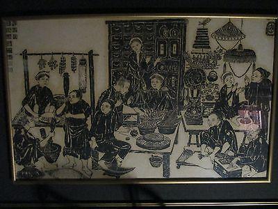 19th Century Vietnam Print Vietnamese Asian Art Antique