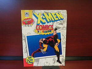 X-men Comic to Color Paperback – 1992 by golden (Introduction)