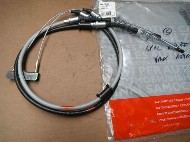 Opel Kadett E 1.2 1.3 1.7 Estate 1.5 TD  complete hand brake cable QH BC2230