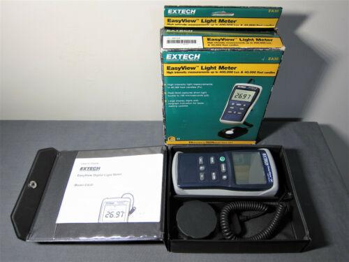 Extech EasyView Light Meter EA30 400k Lux & 40k FC