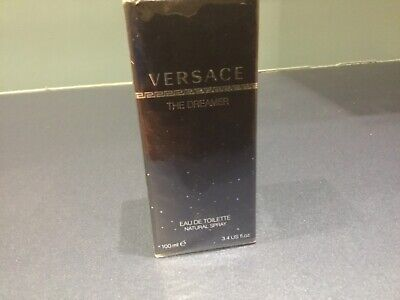 VERSACE THE DREAMER 100ML EDT SPRAY FOR MEN NEW SEALED BOX PERFECT GIFT FOR HIM