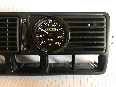 VW Golf Bora MKIV MK4 VENTED Centre Console Vent Gauge Mount Pod Boost 52mm 2