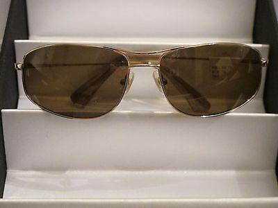 Sama Sunglasses Atoll-Gold -  Size 61 NWT Retail $460