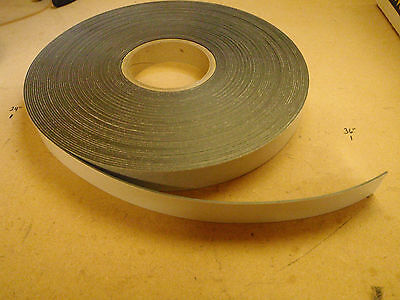 1 Magnetic Tape Roll Adhesive Backed 100 Ft Roll