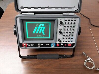 Ifr A-7550 Spectrum Analyzer With Tracking Generator. Version 3.8 10khz To 1ghz