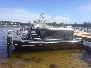 34 ft Millman, ex cray boat, cat 3208 - Jet 291 City Beach Cambridge Area Preview