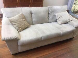 Two 3 person Natuzzi sofas: Used Paddington Eastern Suburbs Preview