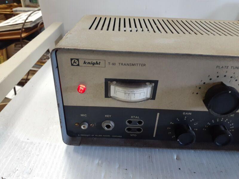 VINTAGE Allied Knight-kit T-60 Transmitter - Estate Item