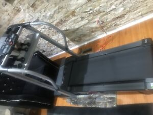 Pro-form space saver foldable electric treadmill!