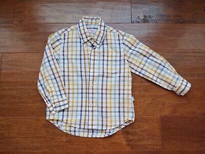 IL GUFO Boy's Shirt Size 3y Plaid Button Up MSRP $150