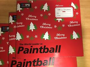 Paintball tickets (3x10), Christmas gift, Free postage!
