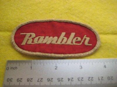 Vintage American Motors Rambler Dealer Uniform Hat Patch