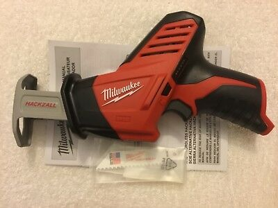 New Milwaukee 2420-20 12V 12 Volt M12 Hackzall Reciprocating Saw Sawzall W/Blade