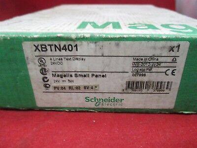Schneider Xbt-n401 Magelis Small Panel New