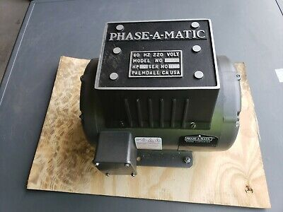 Phase-a-matic Phase Converterrotary5 Hp208-240v R-5