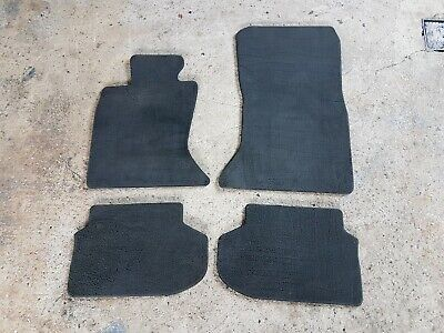schwarz Nadelfilz Autoteppiche Fußmatten für BMW F10 F11 ab Bj.2010