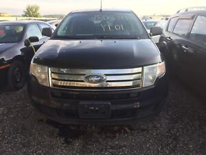 2010 Blue Ford Edge for parts.