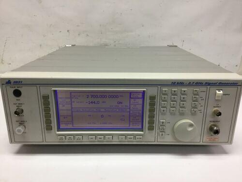 Aeroflex IFR Marconi 2031 Signal Generator 10 kHz to 2.7 GHz TESTED