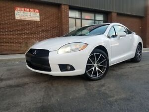2009 Mitsubishi Eclipse GT-P 6 SPEED MANUAL LEATHER SUNROOF!!!