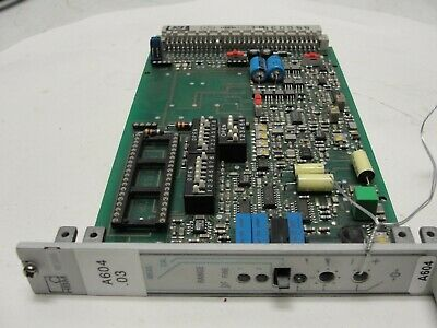Hbm Me50s6 Measuring Amplifier Computer Card Used