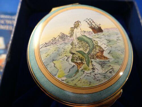 "Halcyon Enamel ""Hans Christian Andersen"", mint w/box, original owner, super art"