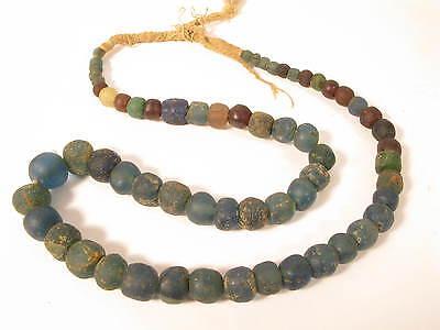 Antike Glasperlen Karawanenhandel African Antique Sahara Trade beads Afrozip