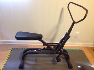 Rowing cardio workout machine, can deliver