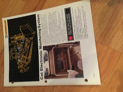 Caterpillar Cat Electronic Monitoring Brochure Reference