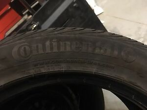 2 235/50/18 continental tires