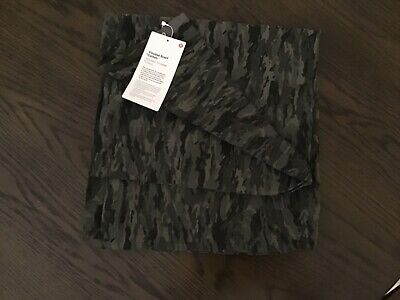 Lululemon Vinyasa Cotton Scarf in Camo Print, NWT, one size.