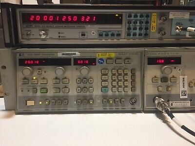Eip 548a Microwave Counter 10hz - 26.5ghz Wopt 05 06 Tested