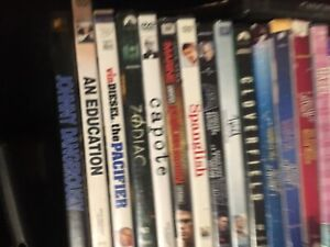 25 plus DVDs $15 for ALL