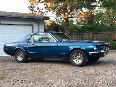 1968 Ford Mustang Coupe Hardtop Project - **OVER 525+ PHOTOS ON LINK** 1967 1969