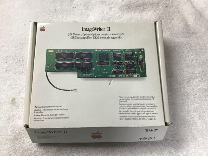 Apple ImageWriter 32k Memory Option, NEW.