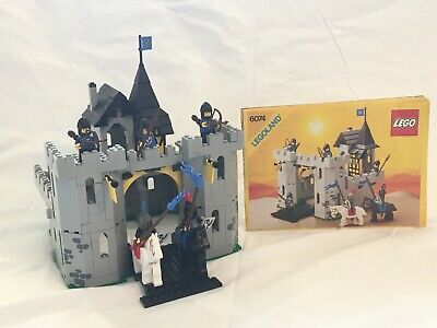 VINTAGE LEGO 6074 Black Falcon's Fortress Castle With instructions, No Box