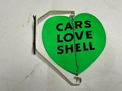RARE NOS ORIGINAL VinTagE SHELL SPINNER SIGN Garage Station WOW! Gas Oil Car OLD