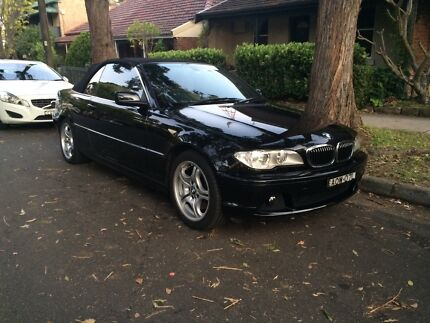 2003 BMW 330ci Convertible - 1 Owner - 80,400km's - 10 Months Rego Chatswood Willoughby Area Preview