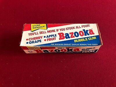 1978, BAZOOKA Bubble Gum,