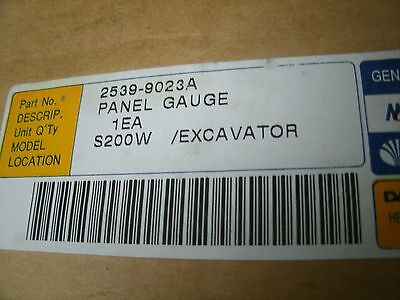 Daewoo Panel Gauge S200w Excavator 2539-9023a 25399023a Factory Sealed Box