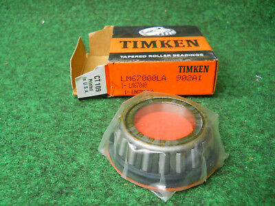 Timken Lm67000la-902a1 Cone Bearing Fits Ditch Witch 125-297