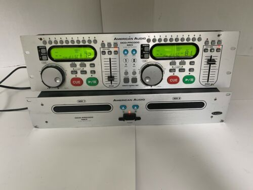 *Nice* American Audio DCD-Pro 300 MKII Dual CD Player / Controllers