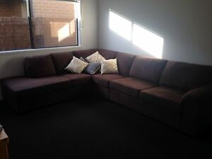 Corner Lounge Suite with Pull Out Sofa Cranbourne West Casey Area Preview