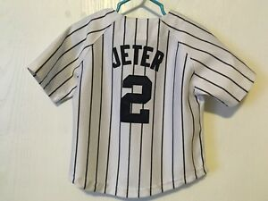 Toddler baseball NY Yankees Jeter jersey MLB Infant Baby kids 2T