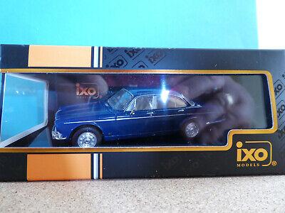 Jaguar XJ 6 Mark 1  Dark Blue with Beige Hide  New release  IXO Models New 1:43