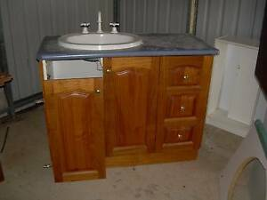 Timber Vanity Unit Texas Inverell Area Preview