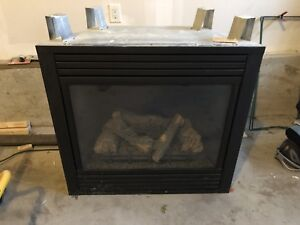 Fireplace, Direct Vent Gas - MHSC CDV7 Series, Rear Venting