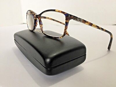 Versace MOD 3163 Prescription Eye Glasses Black Clam Shell Hard Case & Cloth