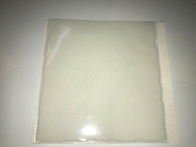 QTY 100 PERMIT / TAX DISC HOLDERS REF CLEAR - SIZE 100 MM X 100 MM APROX
